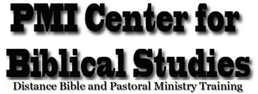 PMI Center for Biblical Studies | KJV Bible and ministry